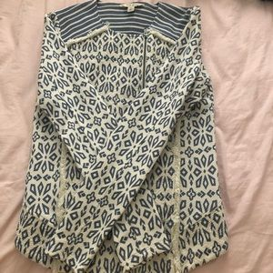 Lucky Brand Women NWOT Pattern Print Jacket